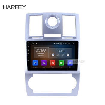 Harfey 9 inch HD 1080P Car Radio Stereo GPS Multimedia Player Android 9.0 For 2004 2005 2006 2007 2008 Chrysler Aspen 300C