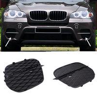 Para BMW X5 E70 2011-2013 conjunto 1 ABS Frente fog lâmpadas de Substituição grade