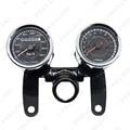 Universal LED Motorcycle Tachometer + Odometer Speedometer Gauge #FD-2523