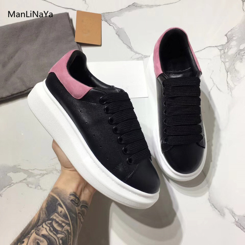 dccbf76b877 Black-Pink-Mixed-Corlors-Platform-Women-Shoes-Women-Sneakers -Lace-Up-Sport-Shoes-Genuine-Leather-Suede.jpg
