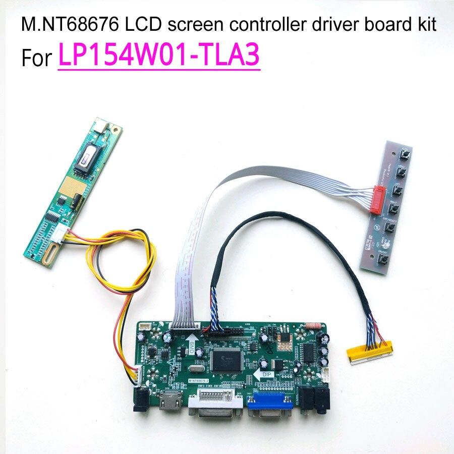 For LP154W01 TLA3 laptop LCD monitor 30 pins 15 4 CCFL LVDS 1 lamp 60Hz 1280