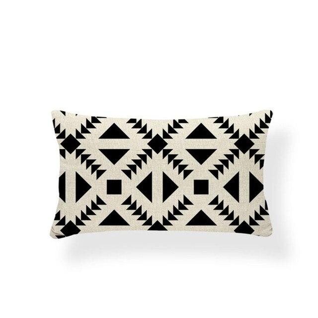 Black & White Nordic Pillowcase