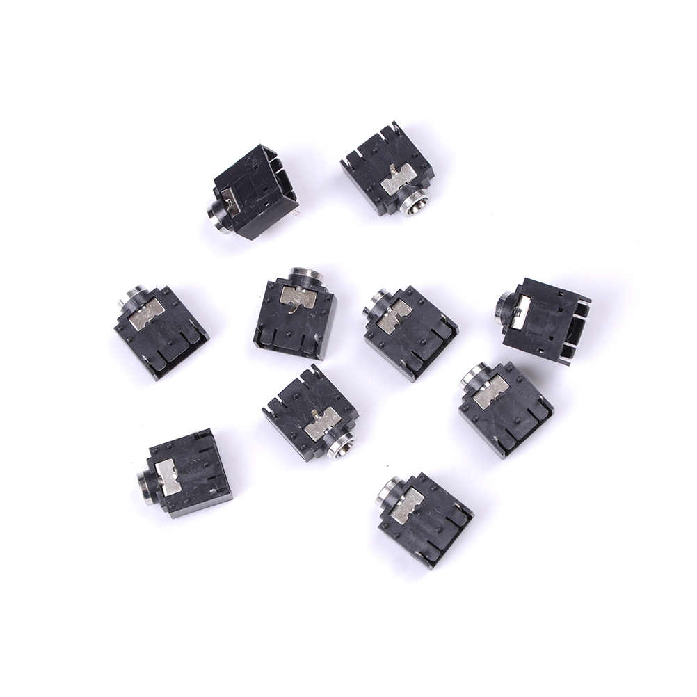 small resolution of detail feedback questions about 10 pcs 3 pin 3 5mm pcb mount female 3 pin wiring stereo jack socket