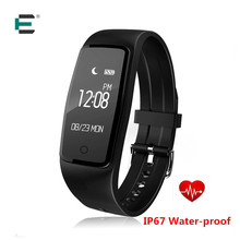 E t S1 Bluetooth Smart Band GPS браслет ездить, прыгать пульсометр IP67 Водонепроницаемый Smart Браслет для Android IOS Телефон