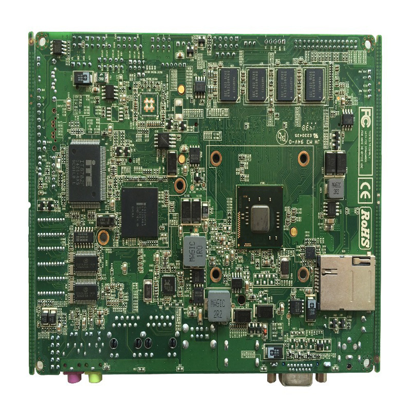 Cheap NM10 Chipset Onboard N2800 Processor Industrial Computer Itx Motherboard
