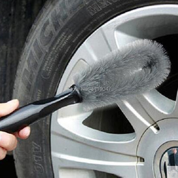 Car Wheel Rims Tire Washing Brush FOR fiat 500 nissan qashqai ford ford focus 2 mazda rx8 scirocco bmw x5 e53 citroen c4 audi a6 image