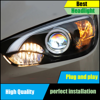 Car Styling for Mazda CX 5 Headlights 2013 2015 CX5 LED Headlight DRL Bi Xenon Lens High Low Beam Parking Fog Lamp