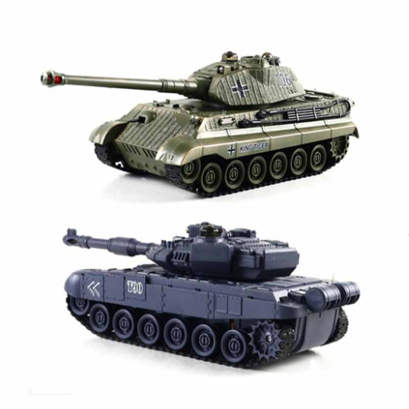 6 style Rc Battle Tank Remote Control War Shooting Tank large scale Radio Control Army battle Model millitary RC Battle Tank Toy 2017 robot juguetes 1 24 large scale rc battle tank remote radio control recharge battery army model millitary tanks toy gift