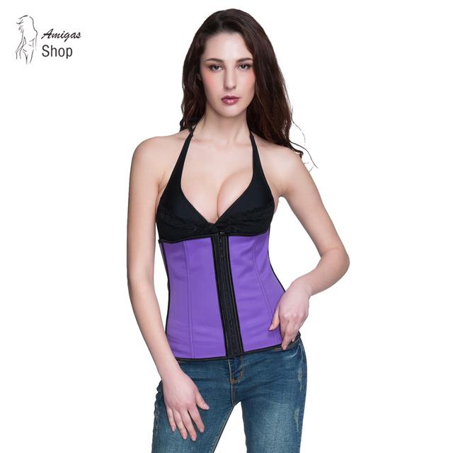 Cintura corsé cintura entrenador capacitado reductora fajas caliente shapers adelgaza faja faja de cintura de látex de látex de látex caliente