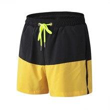 Men Patchwork Basketball Shorts Breathable Running Sport Gym Clothing Bodybuilding Sportswear Mens