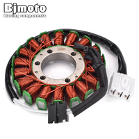 BJMOTO Motorcycle Stator Coil For Yamaha YZF R6 2006 2017 Generator Plate Alternator Ignition Magnetic Coil