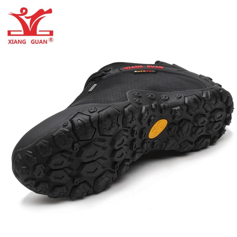 XIANG GUAN Hombre Senderismo Zapatos Hombre Botas de Trekking - Zapatillas - foto 4