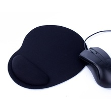 Soft Comfortable Thicker Mouse Pad with Wrist Rest