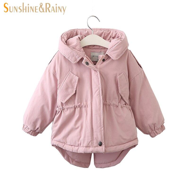 Clearance ~ Kids Winter Jackets Hooded Girls Warm Coats ...