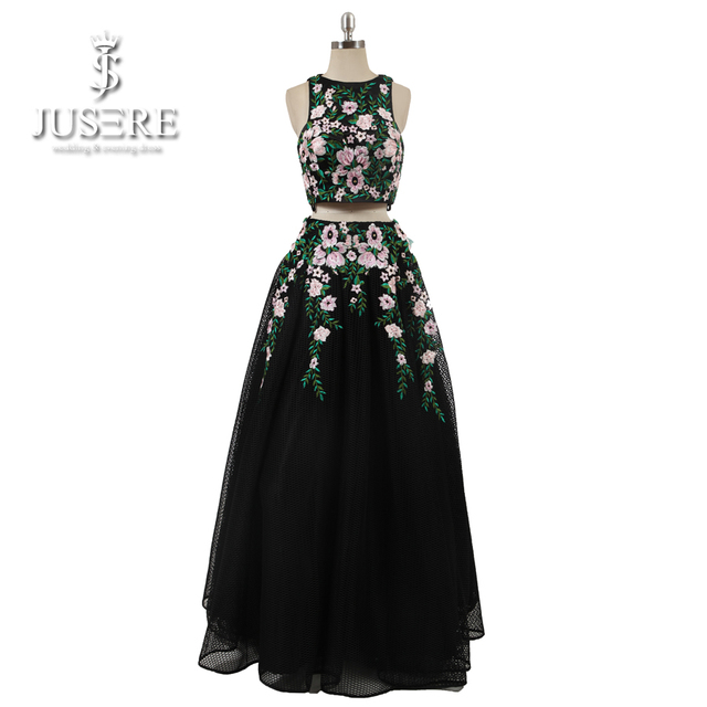 Aliexpress Buy Sexy Two Pieces Plus Size Prom Dresses 2018 A