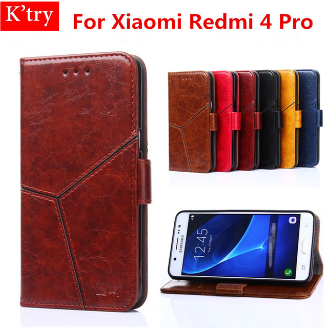 wholesale dealer 2b9b0 65290 US $6.84 5% OFF For Xiaomi Redmi 4 Pro Wallet Case Luxury Stand Style Flip  Leather Cover Magnetic Phone Case For Xiaomi Redmi 4 Pro Conque-in Fitted  ...