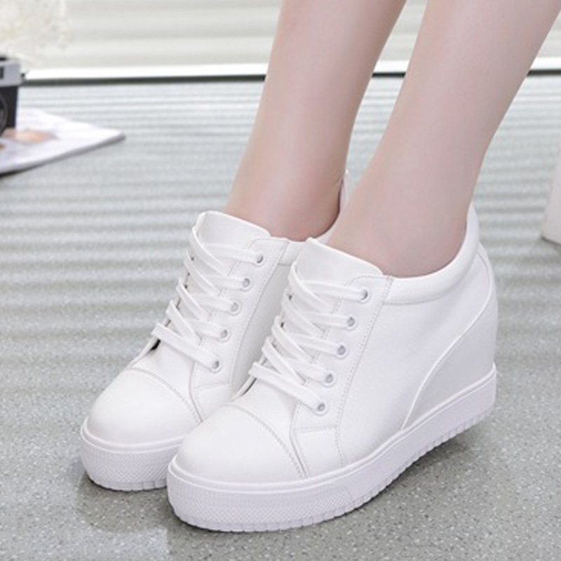 New Women Flats Lace Up Women Shoes Wedge Platform Shoes Women Loafers Casual Ladies Shoes White Chunky Sneakers Female CreeperNew Women Flats Lace Up Women Shoes Wedge Platform Shoes Women Loafers Casual Ladies Shoes White Chunky Sneakers Female Creeper
