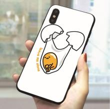 Gudetama Egg Soft TPU Cover for iPhone 8 Print Phone Case Plus X Xs Max XR 5 5s se 6 6s 7 Cases Back