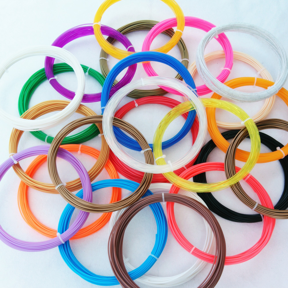 1china 36pcs PLA 3D Print Filament 1.75mm 10M Different Colors  total 360M Materials For 3D Printer or 3D Pen gift for kids flsun 3d printer big pulley kossel 3d printer with one roll filament sd card fast shipping