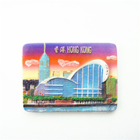 Quality Resin 3D Fridge Magnet Hong Kong Convention And Exhibition Center Hong Kong Souvenir 0114
