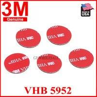 Doppelseitige 3M Self Adhesive Sticker Sticky Pad Halterungen Pads für Dash Cam Kamera 3M 5952 Doppel seitige Aufkleber schwarz farbe