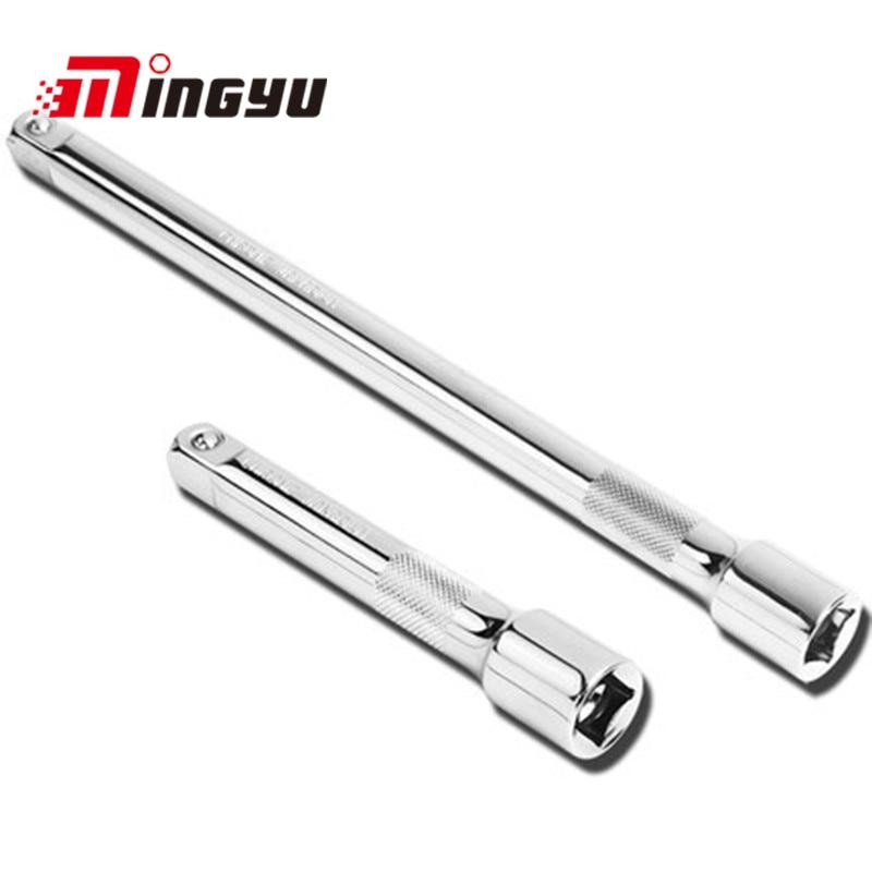 "1/2 ""drive Socket Extension Bar Set 250mm Lengte Ratchet Dopsleutel Extender Chroom Vanadium Staal Lange Conector Hand Tool"