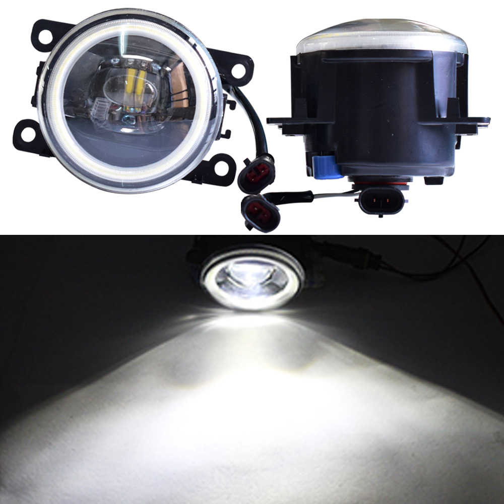 Daytime Running Light Angel Eye LED Bulb H11 Socket For Opel Astra G Estate F35_ Saloon F69 1998-2009 Halogen Fog Lamp Headlight