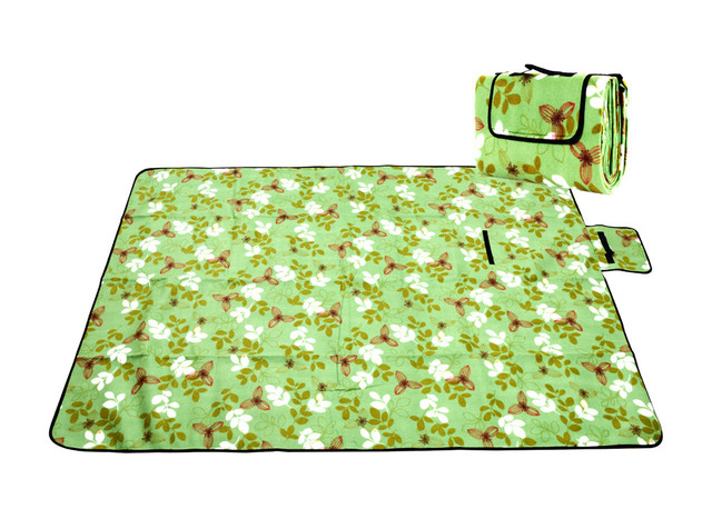 Camping Mat Soft Picnic Rug Mat Beach Camping Tent Travel Mattress Sleeping  Pad Folding Camp Bed