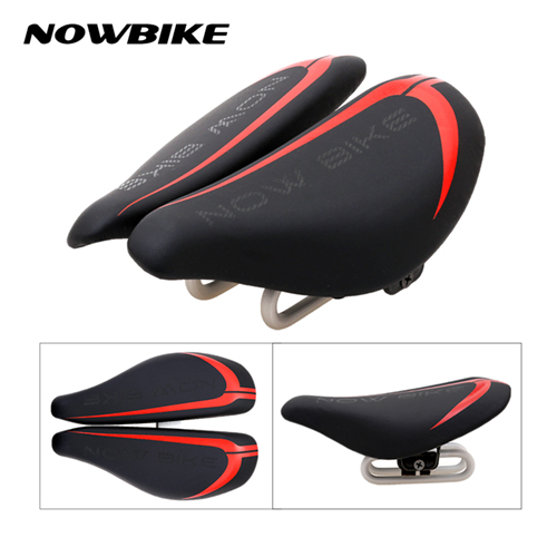 2017 Hot Bike Saddles MTB Road Cycling Saddle Seat Cr-Mo Steel Super Fiber Leather Bicycle Seat Black White Red Bicycle Parts bicycle cycling bike vader road offroad mtb bicycle cycling saddle seat black