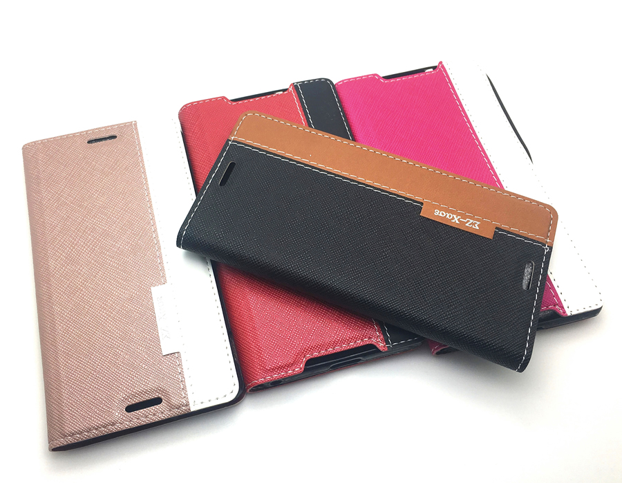 Luxury Retro PU Leather Wallet <font><b>Case</b></font> Cover for <font><b>Sony</b></font> Xperia <font><b>Z3</b></font> L55T <font><b>D6603</b></font> D6643 <font><b>Phone</b></font> Bag Flip Cover + Screen Film