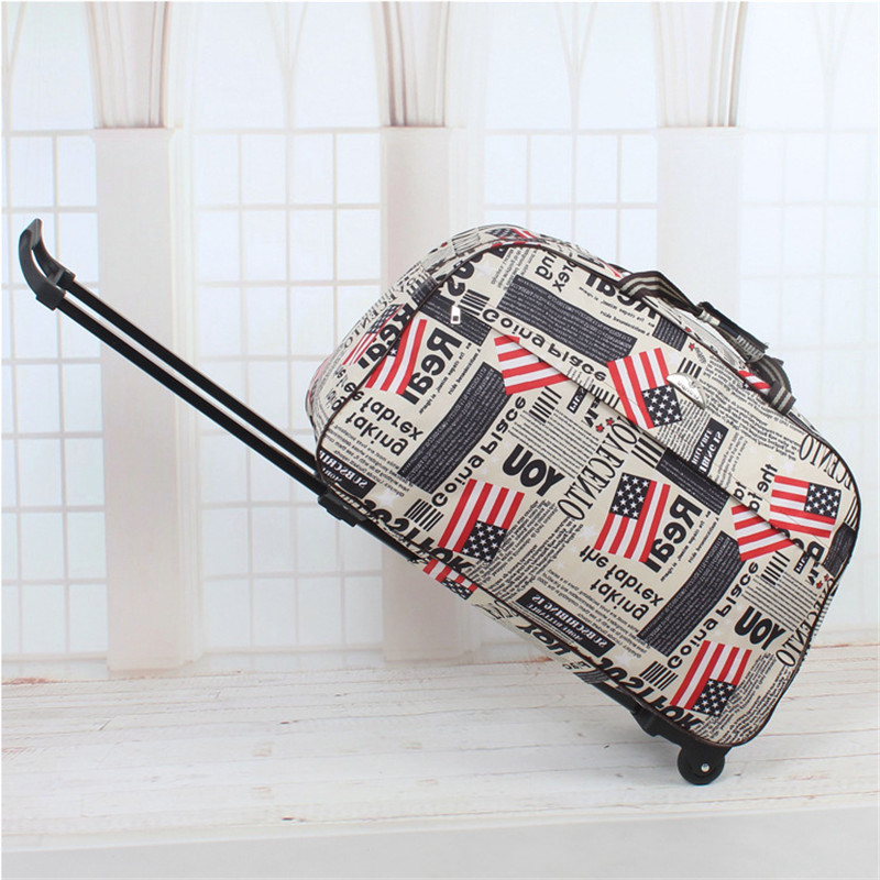 Fashion Waterproof Luggage Bag Thick Style Rolling Suitcase Trolley Luggage Women&Men Travel Bags Suitcase With Wheels Box Totes vintage suitcase 20 26 pu leather travel suitcase scratch resistant rolling luggage bags suitcase with tsa lock