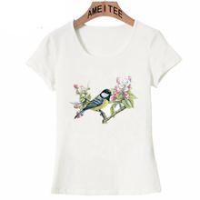 Nowa moda wielki Tit i kwiat jabłoni drukuj Kawaii t-shirt śliczne kobiety T-Shirt Casual topy śmieszne letnie koszulki damskie T-Shirt tanie tanio AMEITTE Modalne tops Z KRÓTKIM RĘKAWEM SHORT REGULAR Sukno Other Z4052 WOMEN NONE HIP HOP Z okrągłym kołnierzykiem