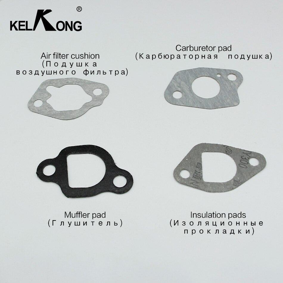 KELKONG Carburateur Joint Kits Pour Honda GX120 GX140 GX160 GX200 168F Moteur À Essence Moteur Tondeuse À Gazon Débroussailleuse Générateur
