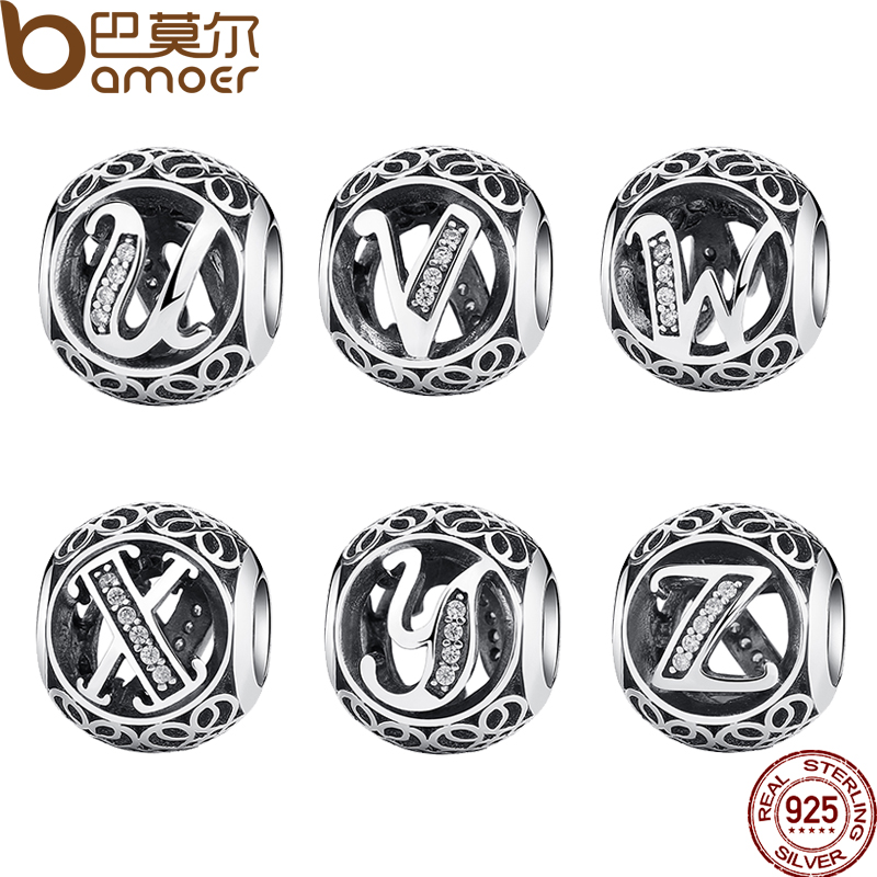 Beads Suplush 925 Sterling Silver Vintage Heart & Flower Charm Beads Fit Original Pandora Bracelet Charms Silver Jewelry Accessories