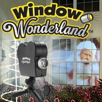 Window Wonderland Projector with 12 Movies Christmas Halloween Window Projector Party Holiday Decoration Dropshipping