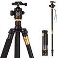 Hot Q999 fotográfico profissional portátil tripé para monopé + bola cabeça para Digital SLR DSLR Camera Fold 43 cm Max carregando 15 Kg
