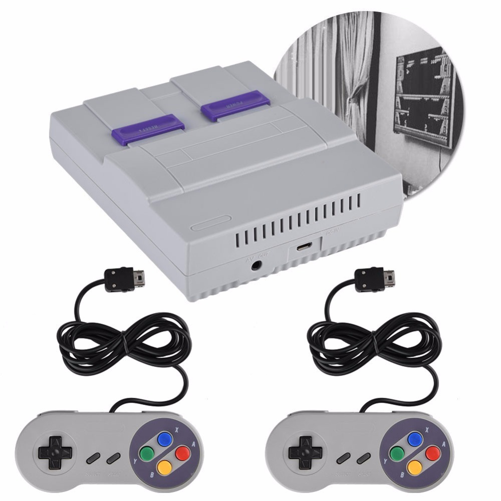 Super Mini 16 BIT Built-in 94 Games Console System with Gamepad for SNES Nintendo Game Games Consoles for kids