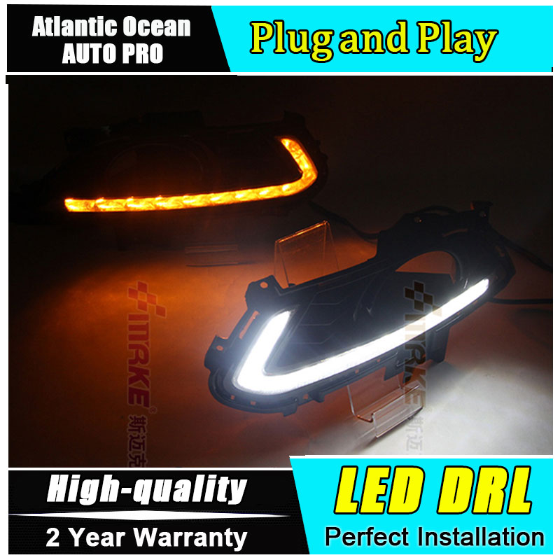 JGRT car styling LED DRL For Ford Mondeo led daytime running lights 2013-2015 For Ford Mondeo LED fog lights parking lights jgrt 2011 for nissan sentra fog lights led drl turnsignal lights car styling led daytime running lights led fog lamps