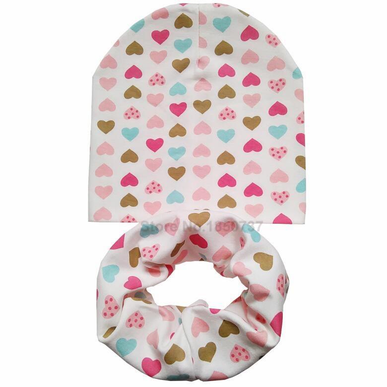 infant hat scarf