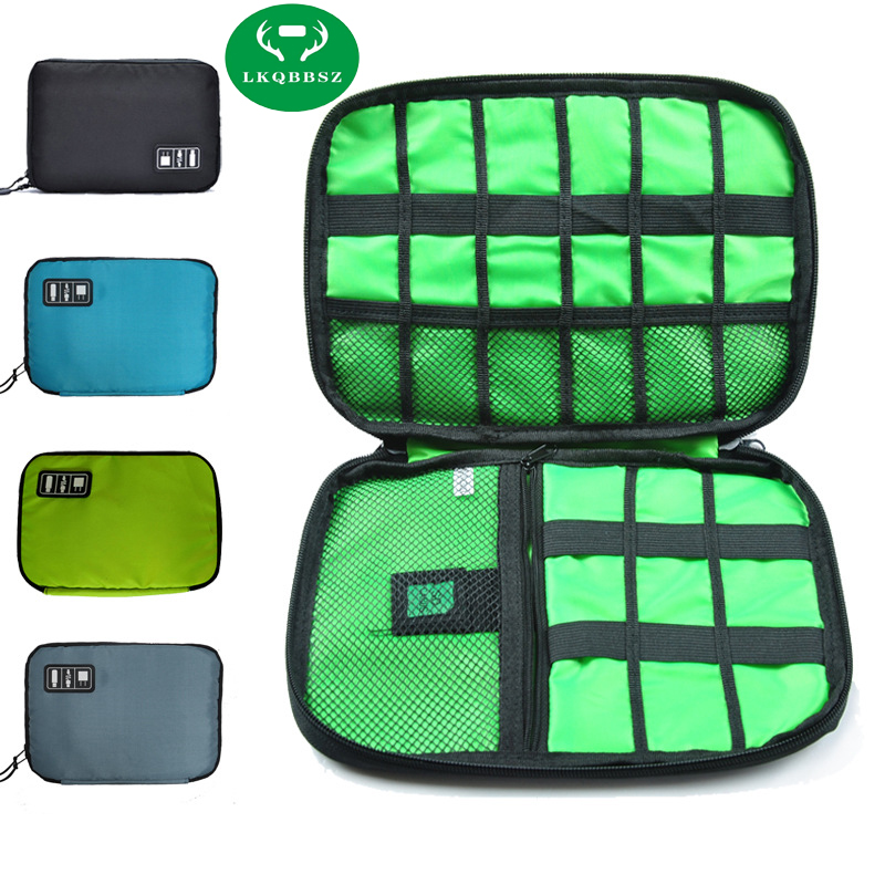 Electronics Storage Bag Gadget Travel Organizer Case Bag for Electronic Phone Accessories Earphone Cables USB Flash Drives