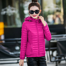 Free shipping Ladies Cotton Short 2016 new winter fashions slim thin cotton padded outerwear Korean student coat for promotion L