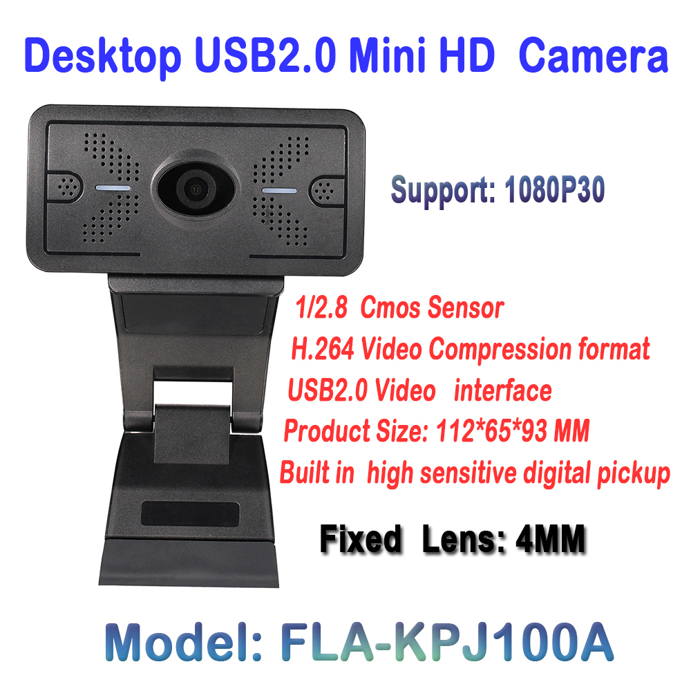 High Quality 2.0 Megapixel HD USB Camera 1920*1080P Security Communication Webcam For Desktop PC Meeting Live Chatting software 360 degree usb 2 0 cable 50 megapixel hd webcam web camera with microphone for desktop computer laptops accessories brand new page 9