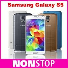 Hot Sale Smartphone Original Samsung Galaxy S5 i9600 SM-G900 16MP Camera Quad-core 3G GPS WIFI 5.1'' Screen Unlocked Phone