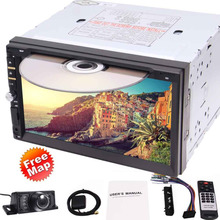 "Eincar Backup camera 7"" Double Din Car GPS Navigation in Dash GPS Car DVD Player FM/AM USB SD Bluetooth  Radio Navigation Car"