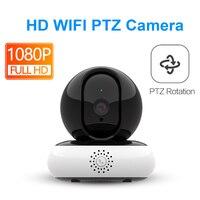 Ip Kamera Wifi 1080 P Mini bebek izleme monitörü Ses Akıllı CCTV Ev Güvenlik Kablosuz Ipcam PTZ Kızılötesi Gece Görüş Gözetim HD