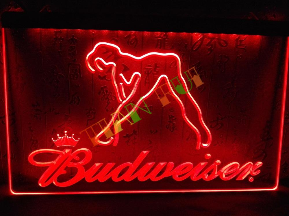 Le133 budweiser exotic dancer stripper bar light sign home decor le133 budweiser exotic dancer stripper bar light sign home decor shop crafts in plaques signs from home garden on aliexpress alibaba group mozeypictures Choice Image