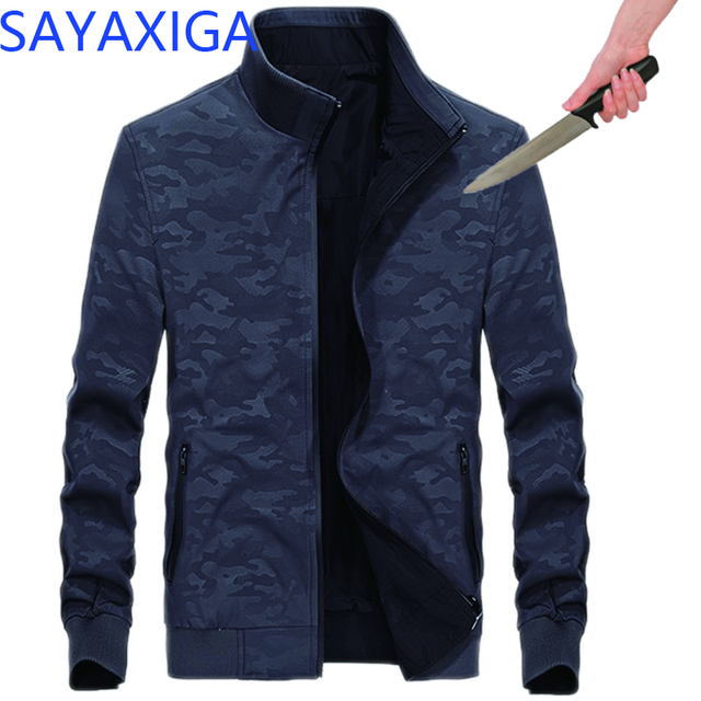 Self Defense Anti-Cut Anti Stab Clothing Anti-Knife Casual Jacket Cut Resistant Men outwear Security concealed Soft Stab jackets