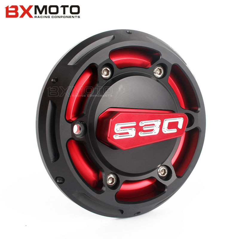 Motorcycle accessories Red motorbike Engine Stator Cover  Engine Protective Cover Protector For Yamaha T-max TMAX 530 2012-2015 motorcycle accessories engine decorative cover motorbike engine cover for harley davidson 2006 sportster 1200 roadster xl1200r