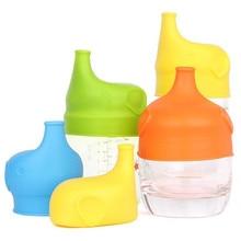Многоразовые силиконовые крышки для чашки с защитой от перелива пылезащитные силиконовые Непроливающиеся крышки для детского питья преобразуют любую чашку