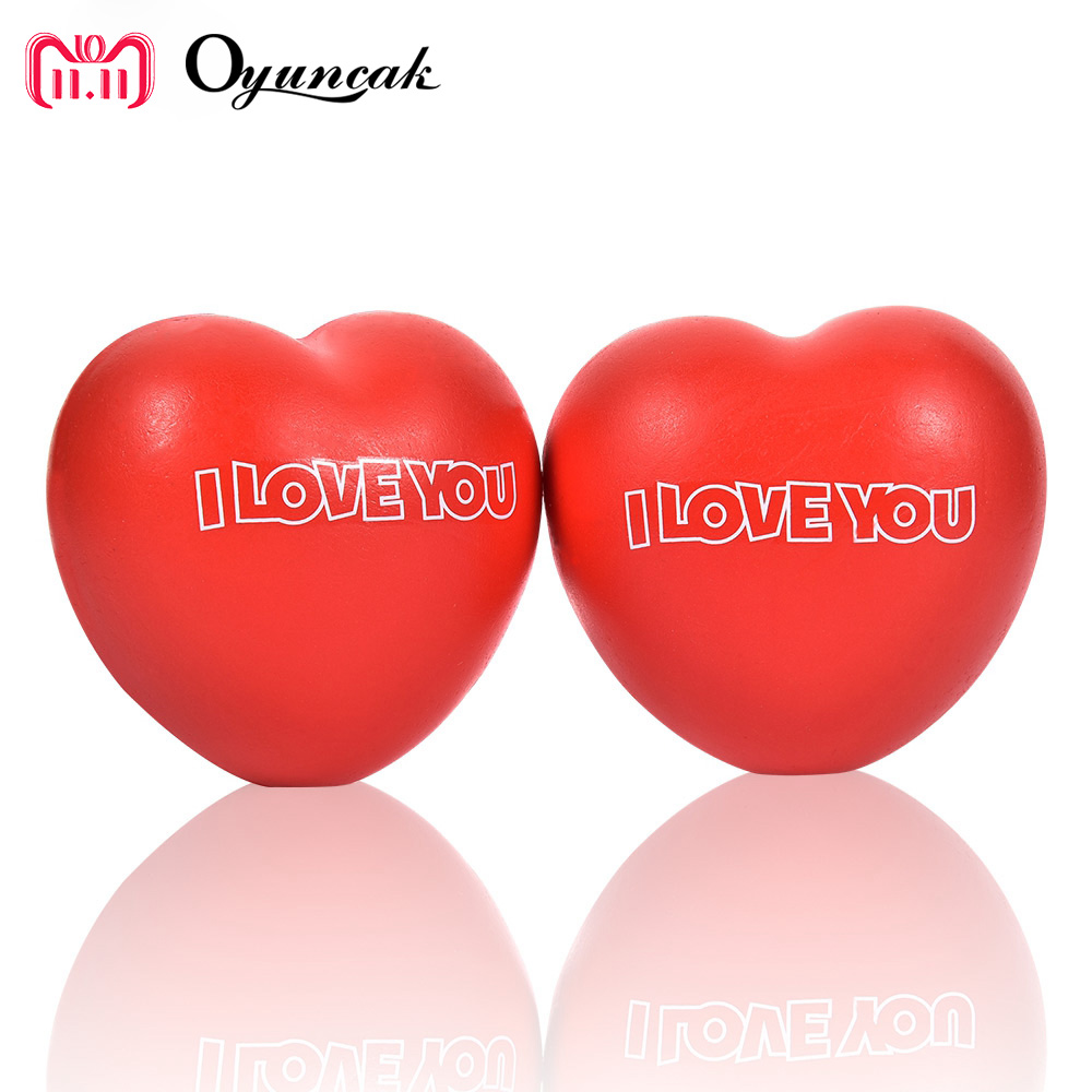 Oyuncak Novelty Gag Toys Love Heart Squish Antistress Surprise Jokes Squishe Entertainment Toys For Kids Fun Squeeze Funny Gifts oyuncak squishy unicorn novelty gag toys surprise antistress fun squeeze unicorn squish kawaii anti stress jumbo funny gadgets